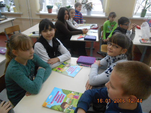 ЗОЖ в гимназии Кобрина